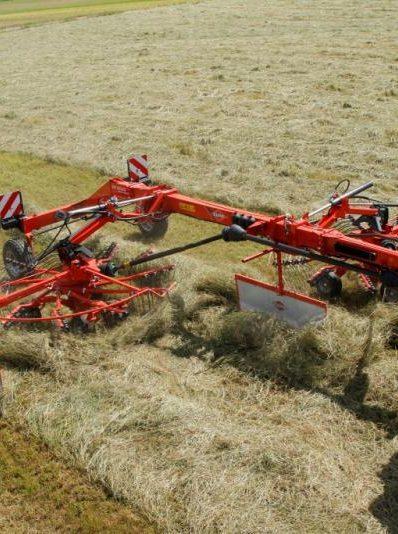 Kuhn dubbele rotor – hark GA